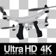 Flying Drone Hovering 4K