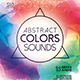 Abstract Color Sounds Party Flyer