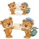 Brown Teddy Bear Postman