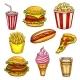 Fast Food Lunch Takeaway
