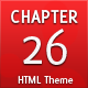 Chapter 26 - Minimal HTML theme - ThemeForest Item for Sale