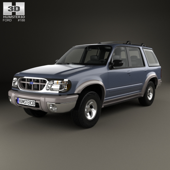 3DOcean Ford Explorer 1994 20011770