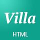 Villa - Bed & Breakfast Landing Page Template