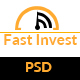 Fast Invest Multipurpose Business PSD