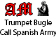 Spanish Army Trumpet Bugle Call