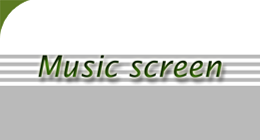 Music screen