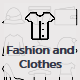 Fashion and Clothes Icons