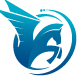 Winged Horse Pegasus Logo