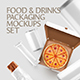 Food & Drinks Packaging Mockups Bundle