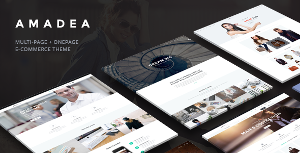 VG Amadea - Multipurpose WordPress Theme