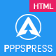 AppsPress – App landing responsive html5 Template (Technology)