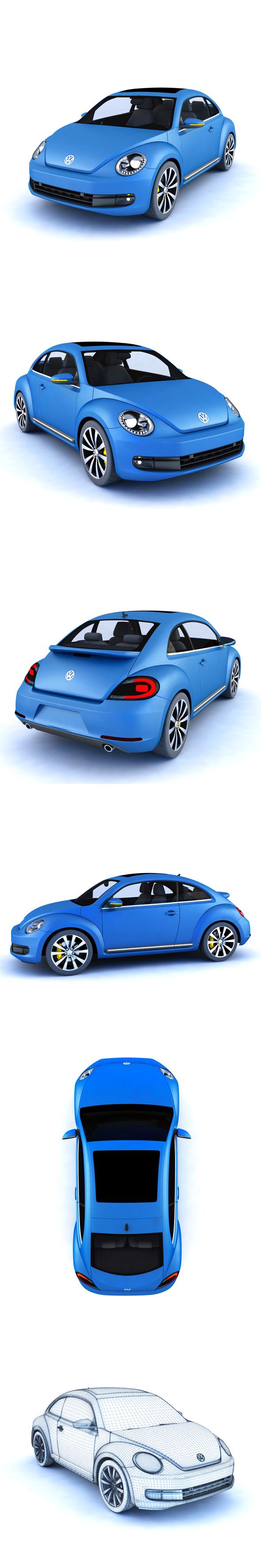 3DOcean Volkswagen Beetle 20014088