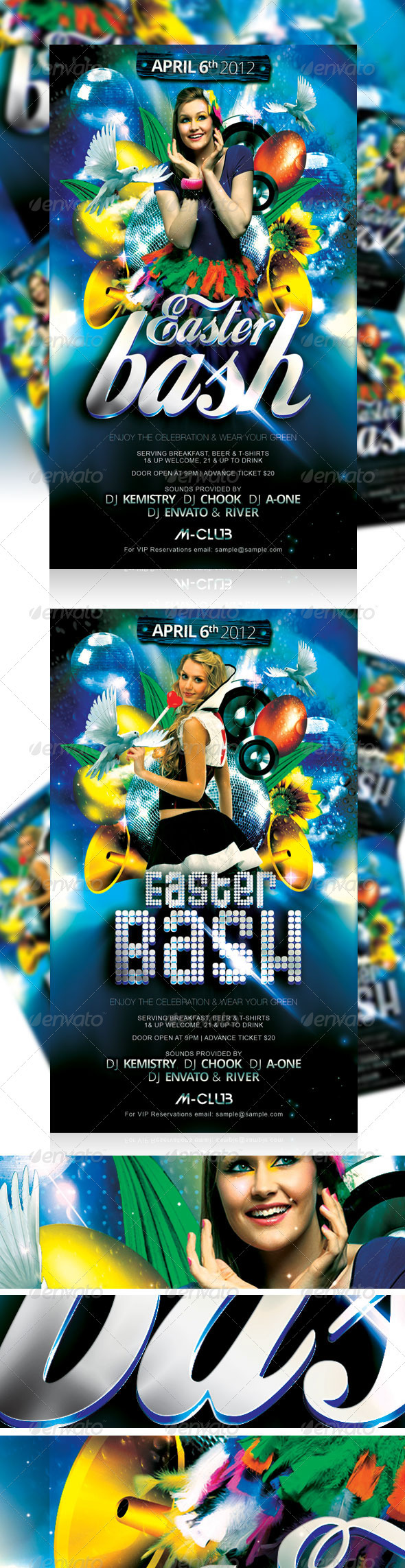 GraphicRiver Easter Bash Party Flyer Vol 3 1959663