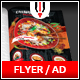 Chinese Restaurant Flyer / Magazine AD