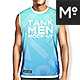 Tank Shirt 3 Types Mock-up