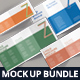 Z-Fold Brochure Mockup Bundle