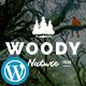 Download Woody - Exclusive Coming Soon WordPress Theme from ThemeForest