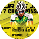 Tour De Java 2K17 Sports Flyer