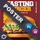 Fast Food Burger Poster Templates