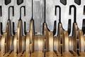 Oil platform heavy gas compressor machinery detail. Norway. Technology