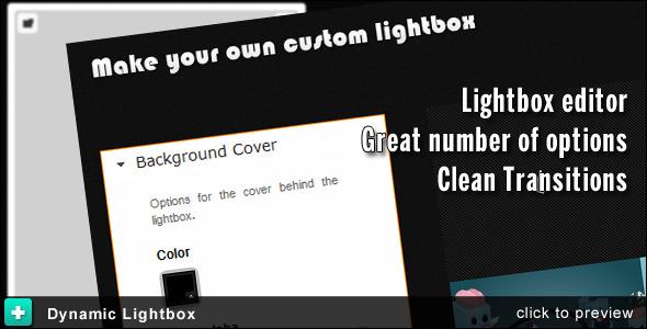 CodeCanyon Dynamic Lightbox 1960109