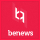 beNews – Magazine WordPress Theme (News / Editorial)