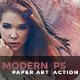Modern Paper Art   PS Action