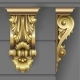 Gold Classic Facade Bracket