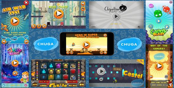 HTML5  BEST 9 GAMES BUNDLE ?3