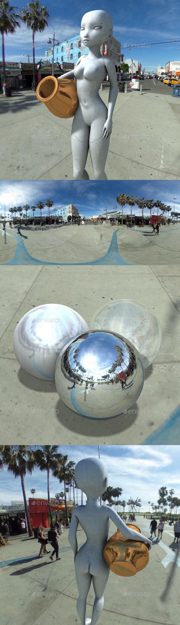3DOcean Sunny Skate Park HDRI 20020343