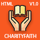 CharityFaith – Nonprofit, Crowdfunding, Education & Charity HTML5 Template (Charity)