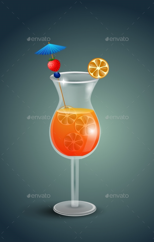 Fresh Orange Juice with Plumeria Flowers