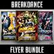 Break Dance Battle Flyer Bundle