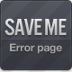 Save me - 404 Error Page - ThemeForest Item for Sale