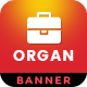 Organ | Multipurpose HTML 5 Animated Google Banner
