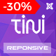 Tini - News/Magazine Template with Online Shop