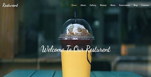 Download Resturant  Template