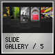 XML SLIDE GALLERY 5 - ActiveDen Item for Sale