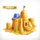Sand Play, Sandcastle