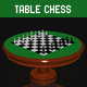 Table Chess - 3DOcean Item for Sale