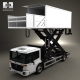 Mercedes-Benz Econic Airport Lift Platform Truck 2013