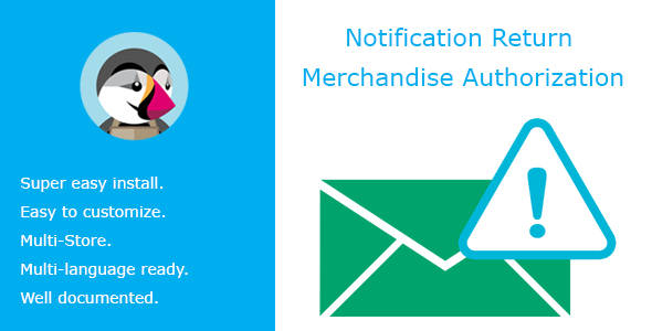 Notification Return Merchandise Authorization