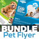 Pets Flyer Template Bundle
