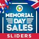 Memorial Day Sliders