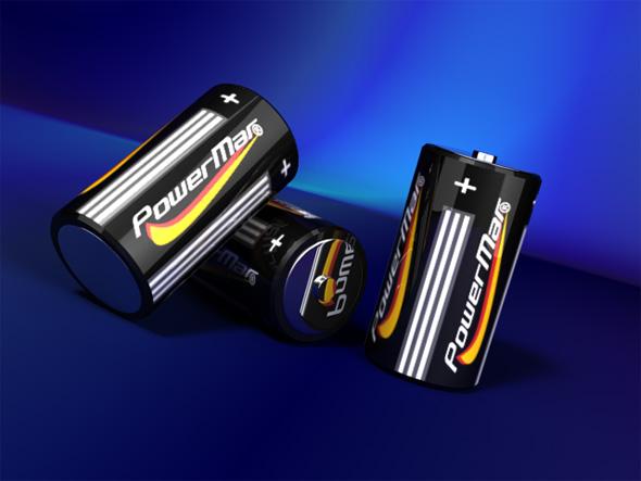 3DOcean Batteries with studio lightning 75499