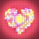VJ Pixel Heart
