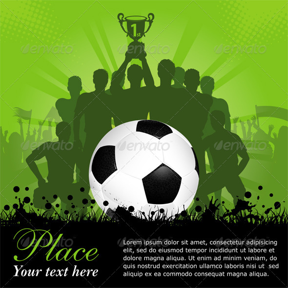 GraphicRiver Soccer Poster 1946595