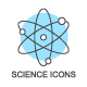 Science and Education Icons