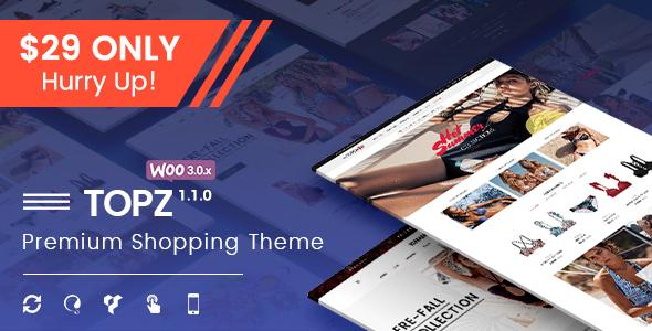 TopZ - Advanced Multipurpose WooCommerce WordPress Theme