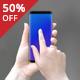 20 PSD Mockup Galaxy S8